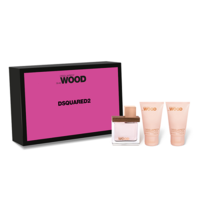 DsQuared She Wood /дамски/ Комплект - edp 30 ml + b/milk 30 ml