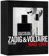 Zadig&Voltaire This Is Him! /мъжки/ Комплект - EdT 50 ml + EdT 10 ml