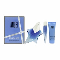 Thierry Mugler Angel /дамски/ Комплект - edp 50 ml + edp 10 ml  + душ гел 50 ml