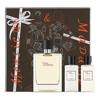 Hermes Terre d'Hermes /мъжки/ Комплект - edt 100 ml + a/s balm 40 ml + sh/gel 40 ml