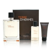 Hermes Terre d'Hermes /мъжки/ Комплект -  edp 75 ml + a/s balm 15 ml + sh/gel 40 ml