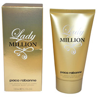 Paco Rabanne Lady Million /дамски/ body lotion 150 ml