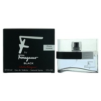 Salvatore Ferragamo F By Ferragamo Black /мъжки/ eau de toilette 30 ml