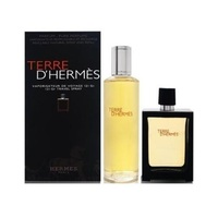 Hermes Terre d'Hermes /мъжки/ Комплект - edp 30 ml refillable spray + edp 125 ml splash
