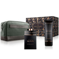 Bvlgari MAN In Black /мъжки/ Комплект - edp 100 ml + автършейв балсам 75 ml + несесер