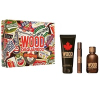 Dsquared2 Wood /мъжки/ Комплект -  edt 100 ml + душ гел 150 ml + edt 10 ml