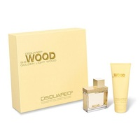 Dsquared2 She Wood Golden Light Wood /дамски/ Комплект -  edp 50 ml + b/lot 100 ml