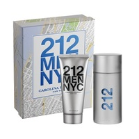 Carolina Herrera 212 Men /мъжки/ Комплект -  edt 100 ml + a/s gel 100 ml