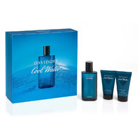 Davidoff COOL WATER /мъжки комплект/ Set - EdT 75 ml + автършейв балсам 50 ml + душ гел 50 ml