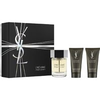 Yves Saint Laurent L'Homme /мъжки/ Комплект -  edt 100 ml +автършейв балсам 50 ml + душ гел 50 ml
